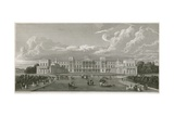 Buckingham Palace Giclee Print by Augustus Charles Pugin