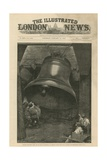 Testing of the Great Bell for St Paul's Cathedral Giclee Print
