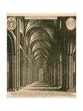St Paul's Cathedral, London Lámina giclée por Wenceslaus Hollar