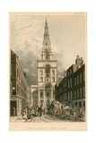 Christ Church, Spitalfields, London Giclee Print