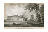 Canonbury House and Tower Giclee Print by Samuel Rawle