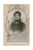 John Braham, Singer Giclee Print by Thomas Charles Wageman
