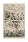 A New Art-If-Ice - Doubly Hazardous Giclee Print by George Cruikshank