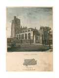 Lambeth Church Giclee Print by Charles Burton