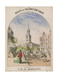 The Bells of Islington Gallop Giclee Print by Alfred Concanen