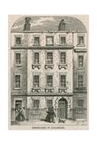 28 Dean Street, Soho, London, Birthplace of Artist Joseph Nollekens Giclee Print
