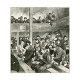 Sketch at Ned Wright's Thieves' Supper Giclee Print