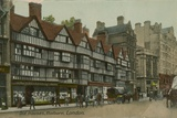 Old Houses, Holborn, London Photographic Print