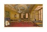 The Aldermen's Court Room, Guildhall, London Giclee Print by John Phillipp Emslie