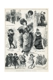 Sketches from Patience at the Opera Comique Giclee Print by Harry Furniss