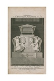 The Monument Erected in St Paul's Cathedral Giclee Print by Samuel Rawle