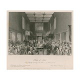 Her Majesty Opening the Session of Parliament at the House of Lords Giclee Print by Thomas Hosmer Shepherd