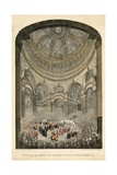Internment of Duke of Wellington Giclee Print by Jacob Van Der Heyden
