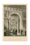 British Museum, Additional Library Giclee Print by Llewellyn Jewitt