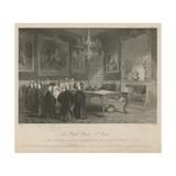 The Royal Closet in St James's Palace Giclee Print by Jacob Van Der Heyden