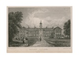 General View of Morden College Giclee Print by Thomas Mann Baynes