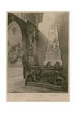Chapel of St John the Evangelist, Westminster Abbey, London Giclee Print by Augustus Charles Pugin