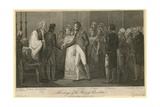 The Wedding of Princess Charlotte Giclee Print by William Marshall Craig