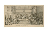 A Representation of the Lord Mayor, Court of Aldermen and Common Council Giclee Print by Hubert Francois Gravelot