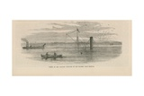 Wreck of the Steamer Batavier in the Thames Giclee Print