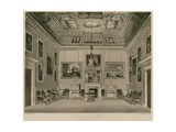 Second Drawing Room, Buckingham House Giclee Print by Francis Phillip Stephanoff