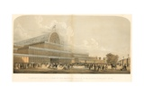 Crystal Palace; the Great Exhibition of 1851 Giclee Print by Charles Burton