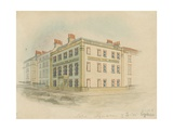 Hospital for Women, Soho Square, London Giclee Print