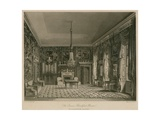 The Queen's Breakfast Room, Buckingham House Giclee Print by Francis Phillip Stephanoff