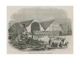 Launch of the Boscawen at Woolwich Giclee Print