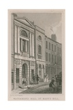 Waterman's Hall, St Mary's Hill, London Giclee Print by Thomas Hosmer Shepherd