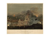 A View of the Temple of Concord in the Green Park Giclee Print by Frederick Calvert