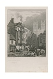 The Home of William Caxton Giclee Print by Samuel Prout