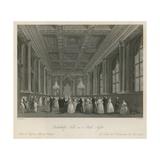 Goldsmiths Hall on a Ball Night Giclee Print by Frederick Mackenzie