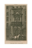 Mercer's Hall, Cheapside, London Giclee Print by Thomas Busby