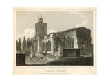 Stepney Church, London Giclee Print by Walter Wallis