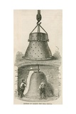 Method of Making the Bell Mould for the Bells for the New Palace of Westminster Giclee Print
