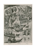 Venice at Olympia - Scences on the Stage and on the Water Giclee Print by Willem II Steelink