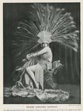 Seraphine Astafieva as the Queen of Sheba Photographic Print