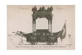 The Funeral Car of the Late Lord Viscount Nelson Giclee Print by Samuel Rawle