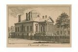 General View of Chiswick House Giclee Print by Samuel Wale
