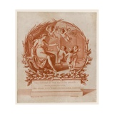 Invitation to Dinner at the Mansion House, London, on 28 March 1796 Giclee Print by Giovanni Battista Cipriani