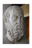 Herodotus of Halicarnassus (484-425 BC.). Was a Greek Historian. Bust of Herodotus. Athens. Greece Giclee Print