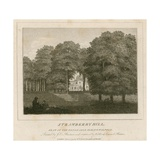 Strawberry Hill, Seat of the Honorable Horace Walpole Giclee Print by Joseph Charles Barrow