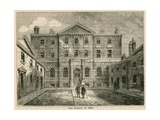 The Albany, London, in 1800 Giclee Print