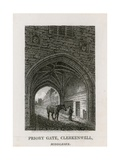 St John's Gate, Clerkenwell Giclee Print by Henry Gastineau