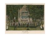 Vauxhall Gardens, London, on a Gala Night Giclee Print