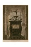 Memorial to Lewis Stuart, Henry the Seventh Chapel, Westminster Abbey, London Giclee Print by Thomas Uwins