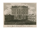 View of York House (Later the Albany), House of the Late Lord Melbourne Giclee Print
