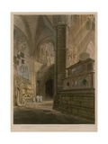North East Area, Westminster Abbey, London Giclee Print by Frederick Mackenzie