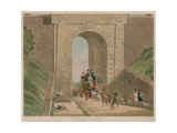 Highgate Archway Giclee Print by James Pollard